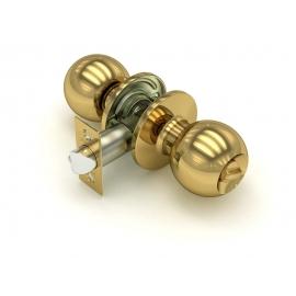 Ручка защелка 672 PB-B (золото) фик.