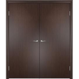 Межкомнатная двойная дверь ДПГ Венге