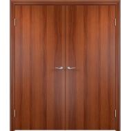 Межкомнатная двойная дверь ДПГ Итальянский орех