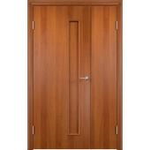 Межкомнатная двустворчатая дверь Тетра Груша