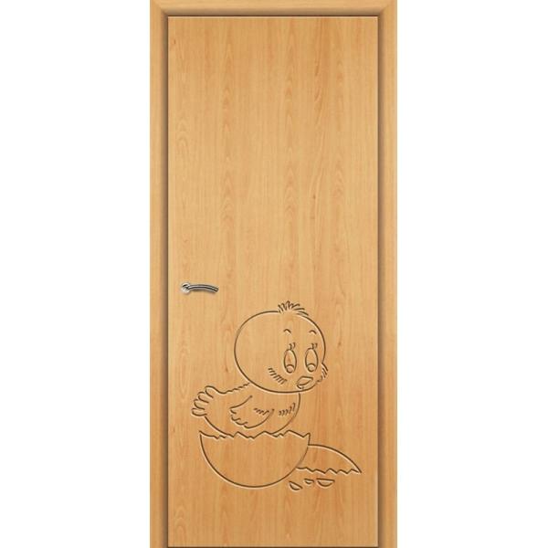 Межкомнатная дверь в детскую Цыпленок