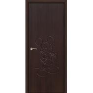 Межкомнатная дверь в детскую Микки Маус