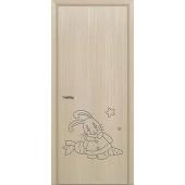 Межкомнатная дверь в детскую Зайчик