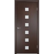 Межкомнатная ламинированная дверь Альта Венге