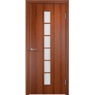 Межкомнатная ламинированная дверь С-12 Итальянский орех