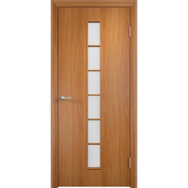 Межкомнатная дверь С-12 Миланский орех