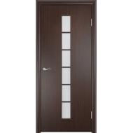 Межкомнатная ламинированная дверь С-12 Венге