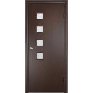 Межкомнатная ламинированная дверь С-13 Венге
