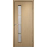 Межкомнатная ламинированная дверь С-14 Беленый дуб