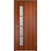 Межкомнатная ламинированная дверь С-14 Итальянский орех