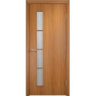 Межкомнатная ламинированная дверь С-14 Миланский орех