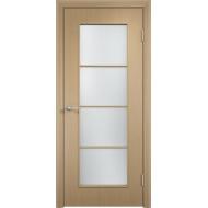Межкомнатная ламинированная дверь С-8 Беленый дуб