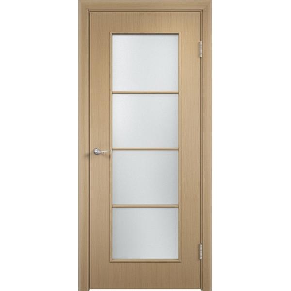 Межкомнатная дверь С-8 Беленый дуб