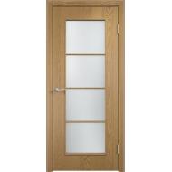 Межкомнатная ламинированная дверь С-8 Светлый дуб