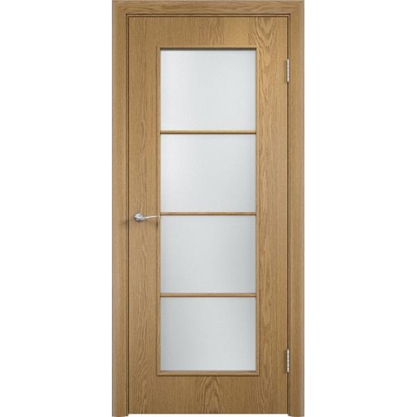 Межкомнатная дверь С-8 Светлый дуб