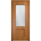 Межкомнатная ламинированная дверь Классика Миланский орех