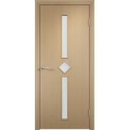 Межкомнатная ламинированная дверь Диадема Беленый дуб