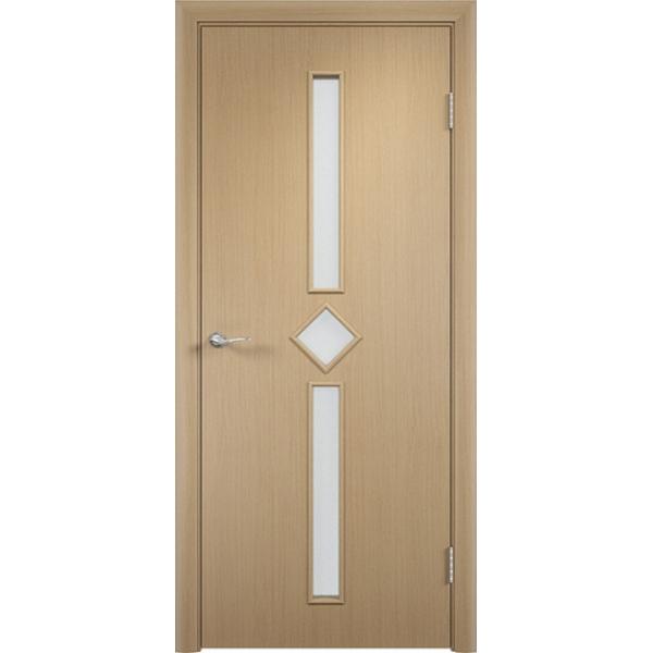 Межкомнатная дверь Диадема Беленый дуб