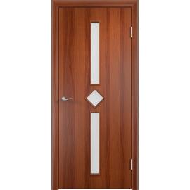 Межкомнатная ламинированная дверь Диадема Итальянский орех
