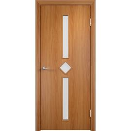 Межкомнатная ламинированная дверь Диадема Миланский орех