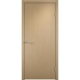 Межкомнатная ламинированная дверь ДПГ Беленый дуб