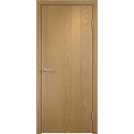 Межкомнатная ламинированная дверь ДПГ Дуб светлый