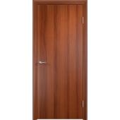 Межкомнатная ламинированная дверь ДПГ Усиленное Итальянский орех