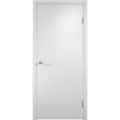 Межкомнатная ламинированная дверь ДПГ Белая