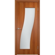 Межкомнатная ламинированная дверь Грация Груша