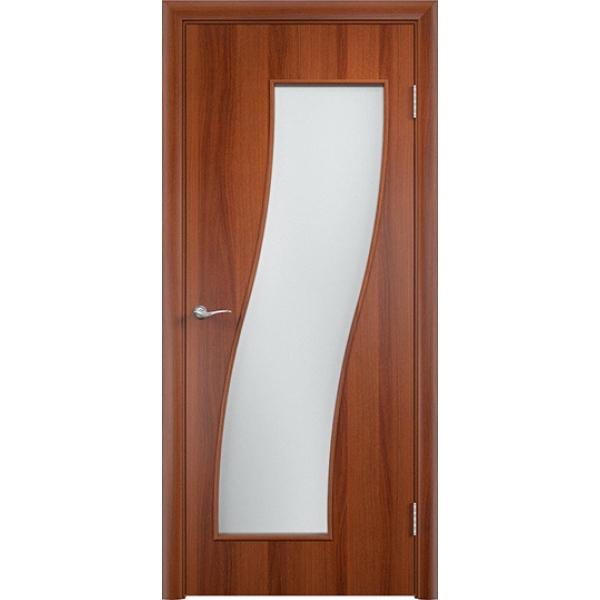 Межкомнатная дверь Грация Итальянский орех