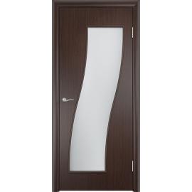 Межкомнатная ламинированная дверь Грация Венге