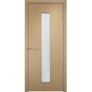 Межкомнатная ламинированная дверь ОСД-4 Беленый дуб