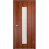 Межкомнатная ламинированная дверь ОСД-4 Итальянский орех