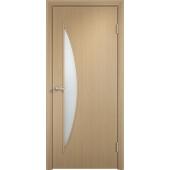 Межкомнатная ламинированная дверь Парус Беленый дуб