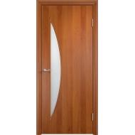 Межкомнатная ламинированная дверь Парус Груша