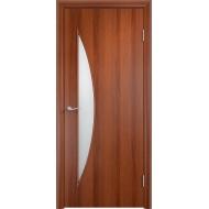 Межкомнатная ламинированная дверь Парус Итальянский орех