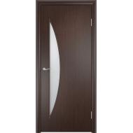 Межкомнатная ламинированная дверь Парус Венге