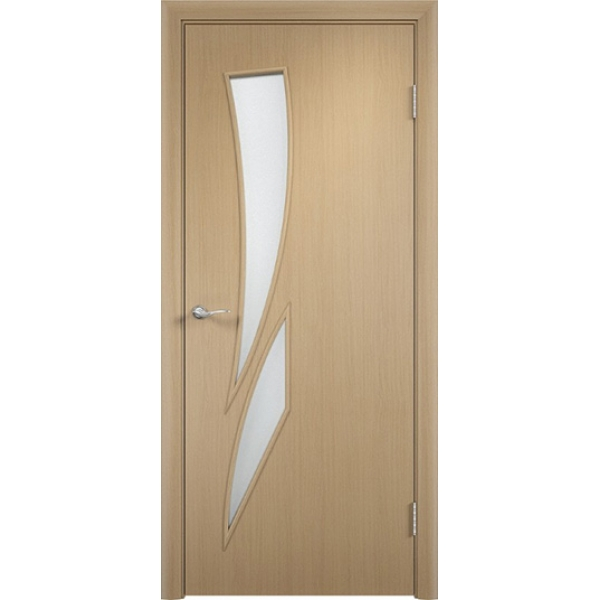 Межкомнатная дверь Роса Беленый дуб
