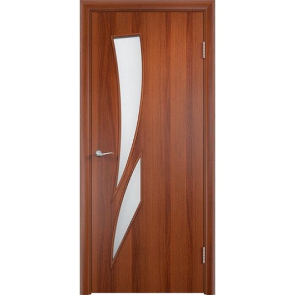 Межкомнатная дверь Роса Итальянский орех