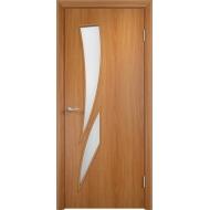Межкомнатная ламинированная дверь Роса Миланский орех