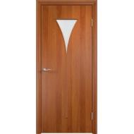 Межкомнатная ламинированная дверь Рюмка Груша