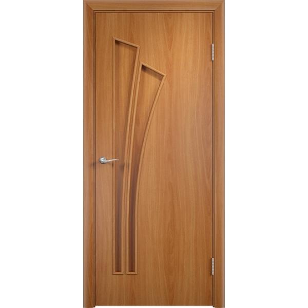 Межкомнатная дверь Тюльпан Миланский орех