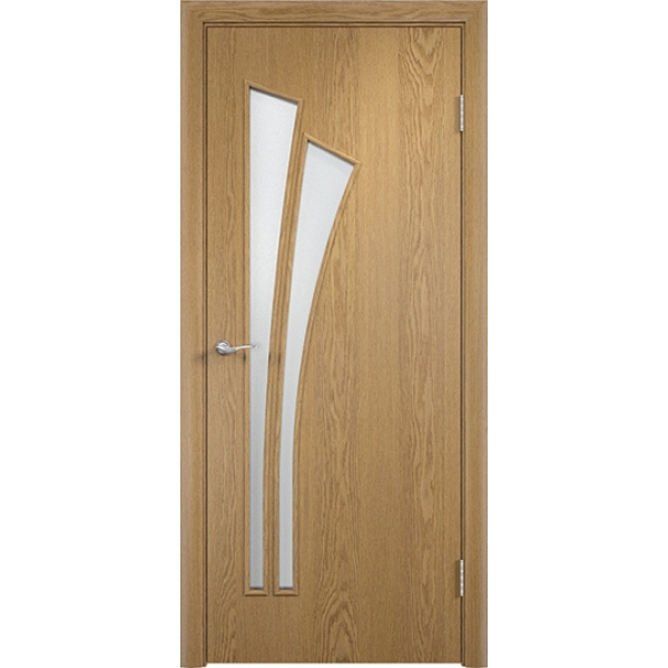 Межкомнатная дверь Тюльпан Светлый дуб