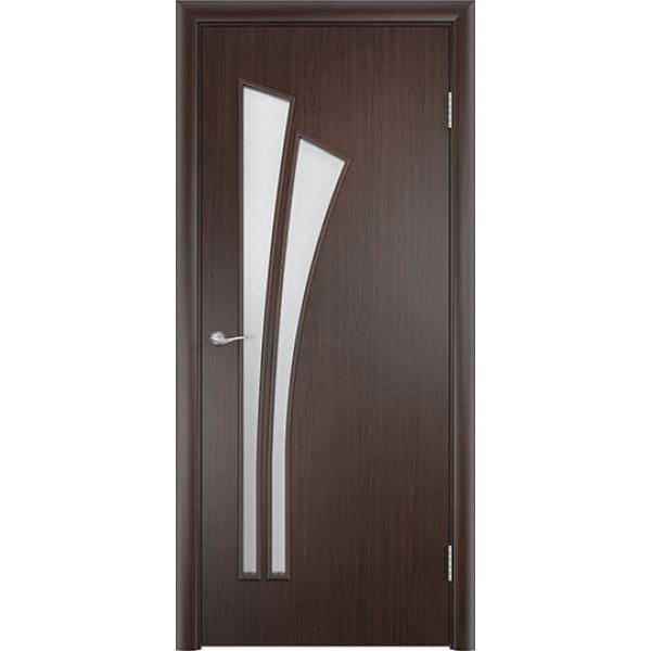 Межкомнатная дверь Тюльпан Венге