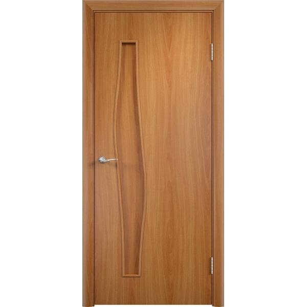 Межкомнатная дверь Волна Миланский орех