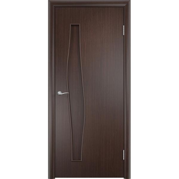 Межкомнатная дверь Волна Венге