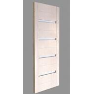 Межкомнатная дверь Экошпон модель 2/15 орех капуччино