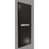 Межкомнатная дверь Экошпон модель 2/4 дуб темный