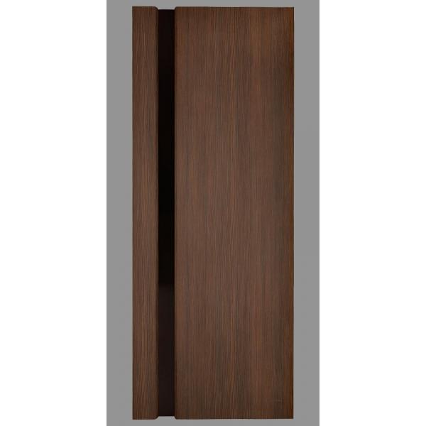 Межкомнатная дверь Экошпон модель 3/1 орех африканский