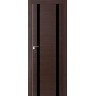 Межкомнатная дверь Экошпон М2-2 венге лакобель